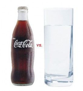 Coke vs. Water
