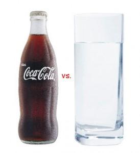 Coke vs. Water